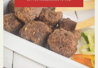Keto Asian Meatballs