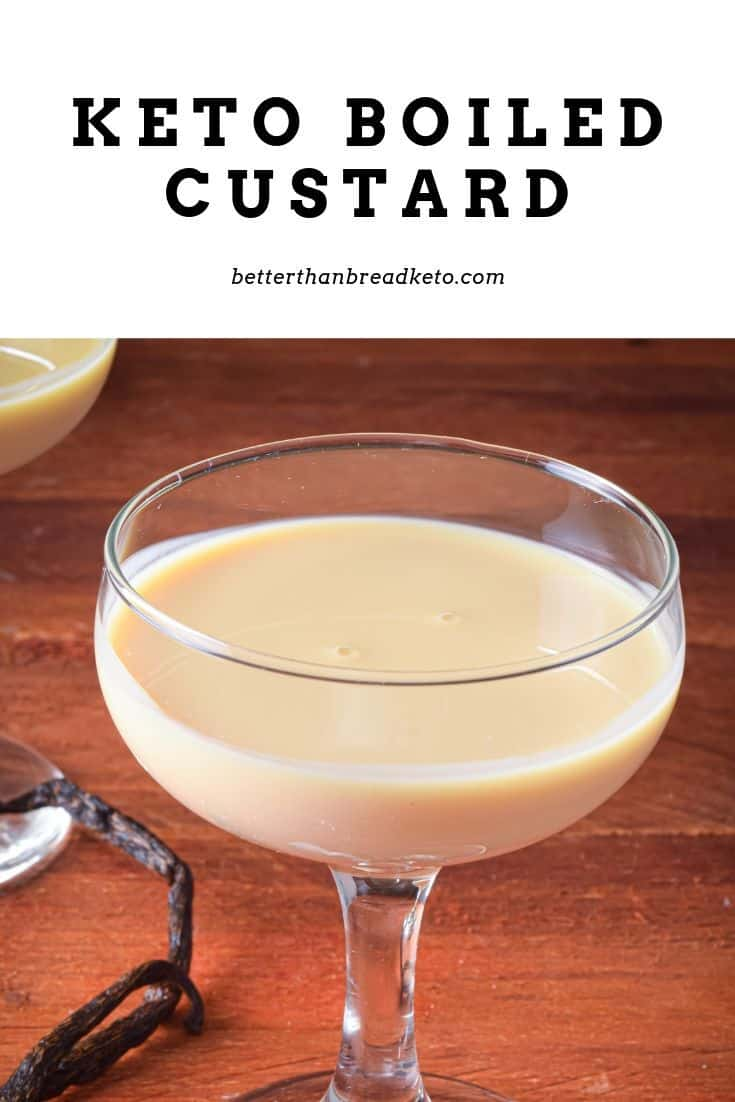 Keto Boiled Custard