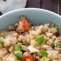 Japanese Keto Fried Rice