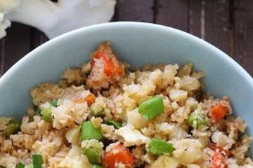Japanese Keto Fried Rice