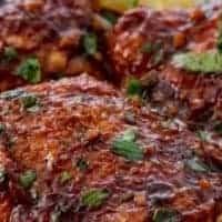 Keto Slow-Cooker Sweet Chicken
