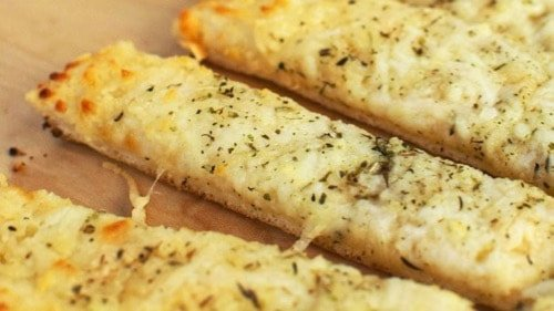 Keto Cheesy Garlic Bread