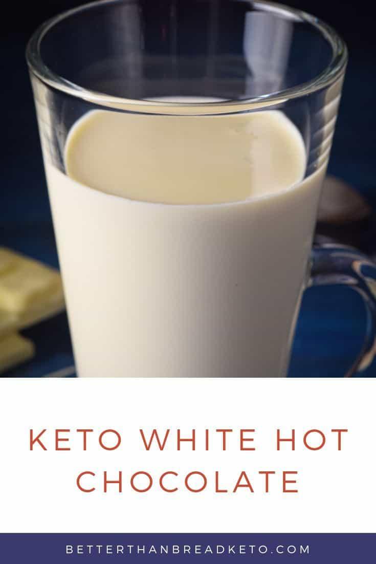 Keto White Hot Chocolate