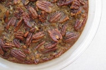 Crustless Keto Pecan Pie