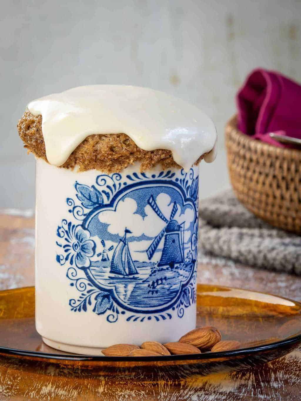 Keto Cinnamon Roll Mug Cake