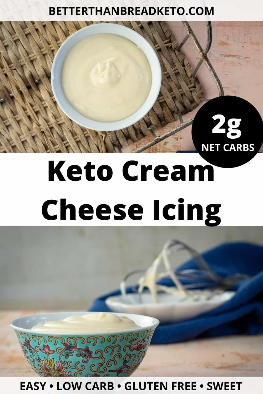 Keto Cream Cheese Icing