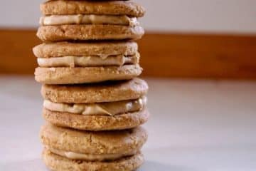 Homemade Keto Nutter Butter Cookies