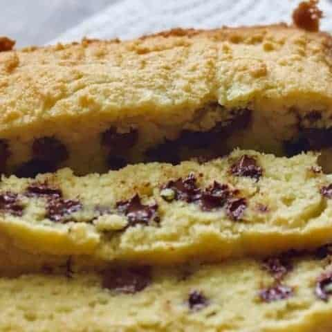 Keto Chocolate Chip Bread