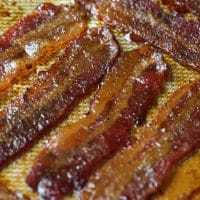 Keto Candied Bacon