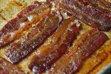Crispy Keto Candied Bacon