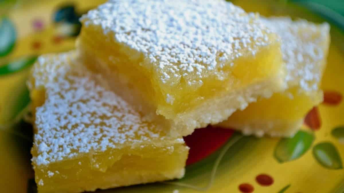 Tart and Tangy Keto Lemon Bars