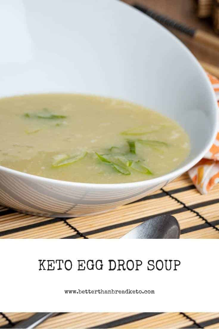 Easy Keto Egg Drop Soup