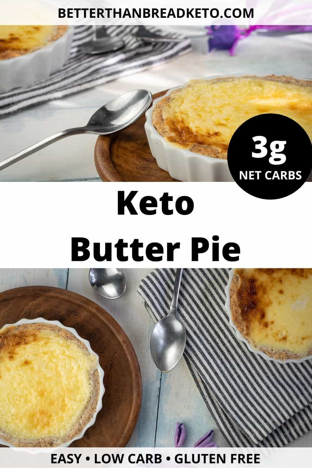 Keto Butter Pie
