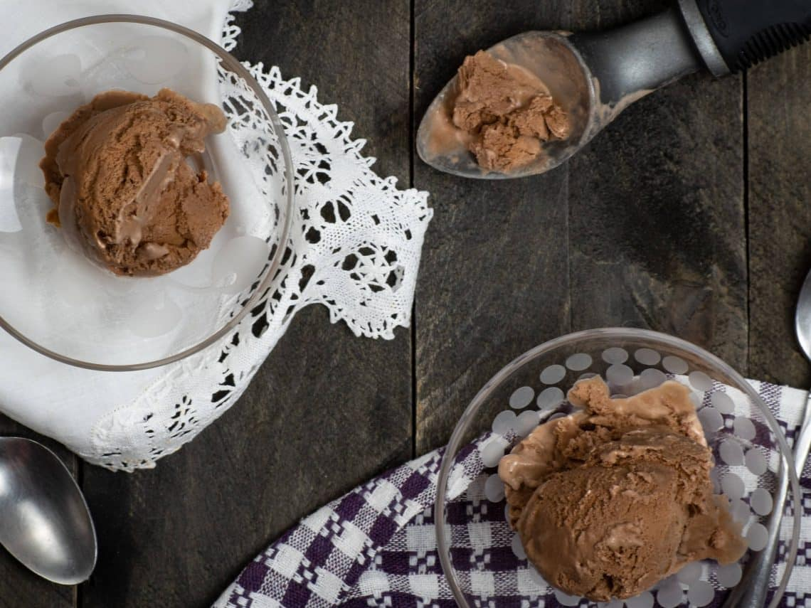 Easy Keto Chocolate Ice Cream