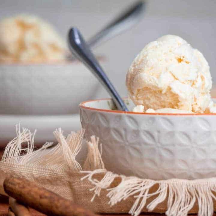 Keto Carrot Cake Ice Cream