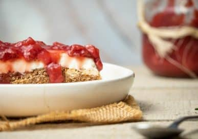 Keto Strawberry Pretzel Dessert