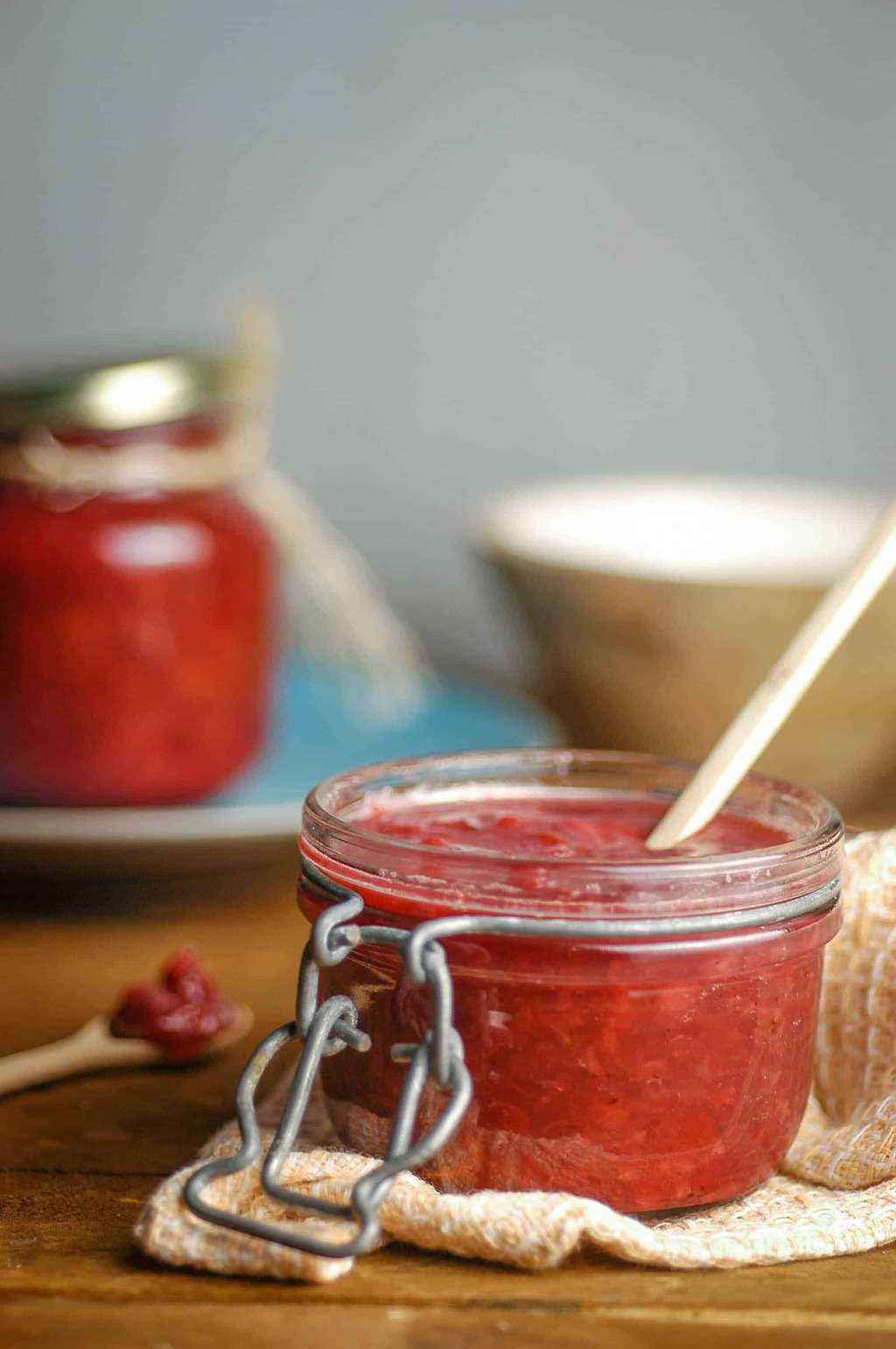 Keto-Friendly Strawberry Jam