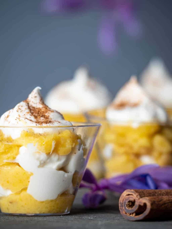 Yummy Keto Pumpkin Pie Trifle