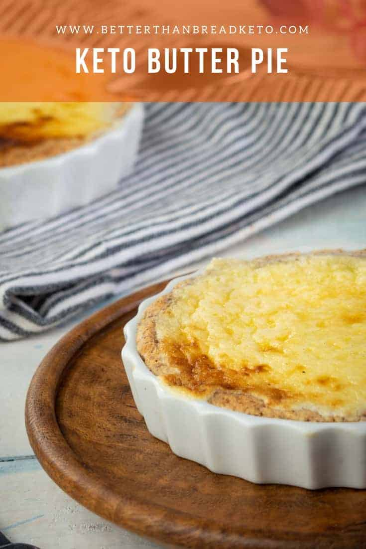 Buttery Keto Butter Pie