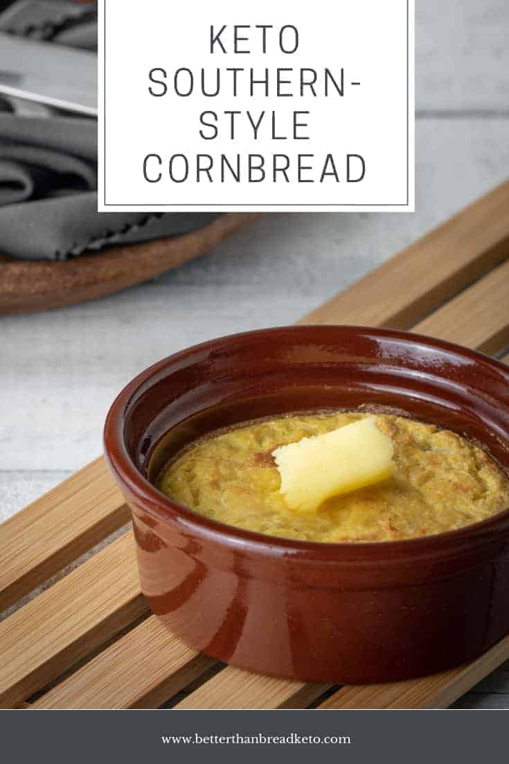 Easy Keto Southern-Style Cornbread