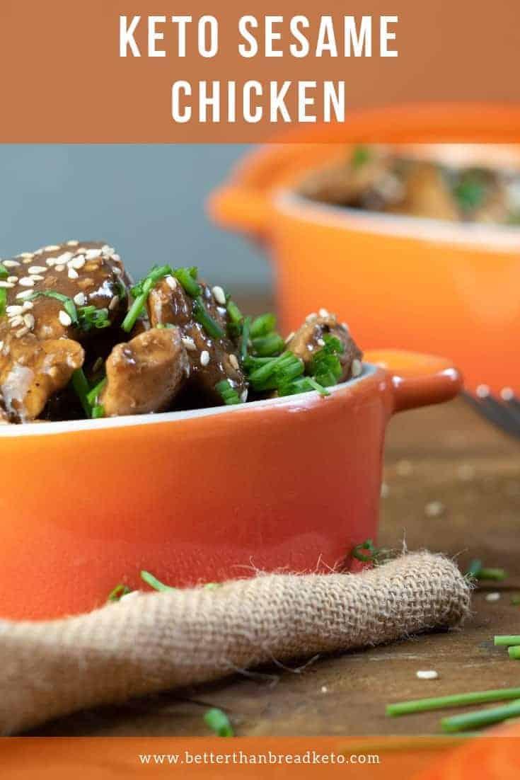 Savory Keto Sesame Chicken