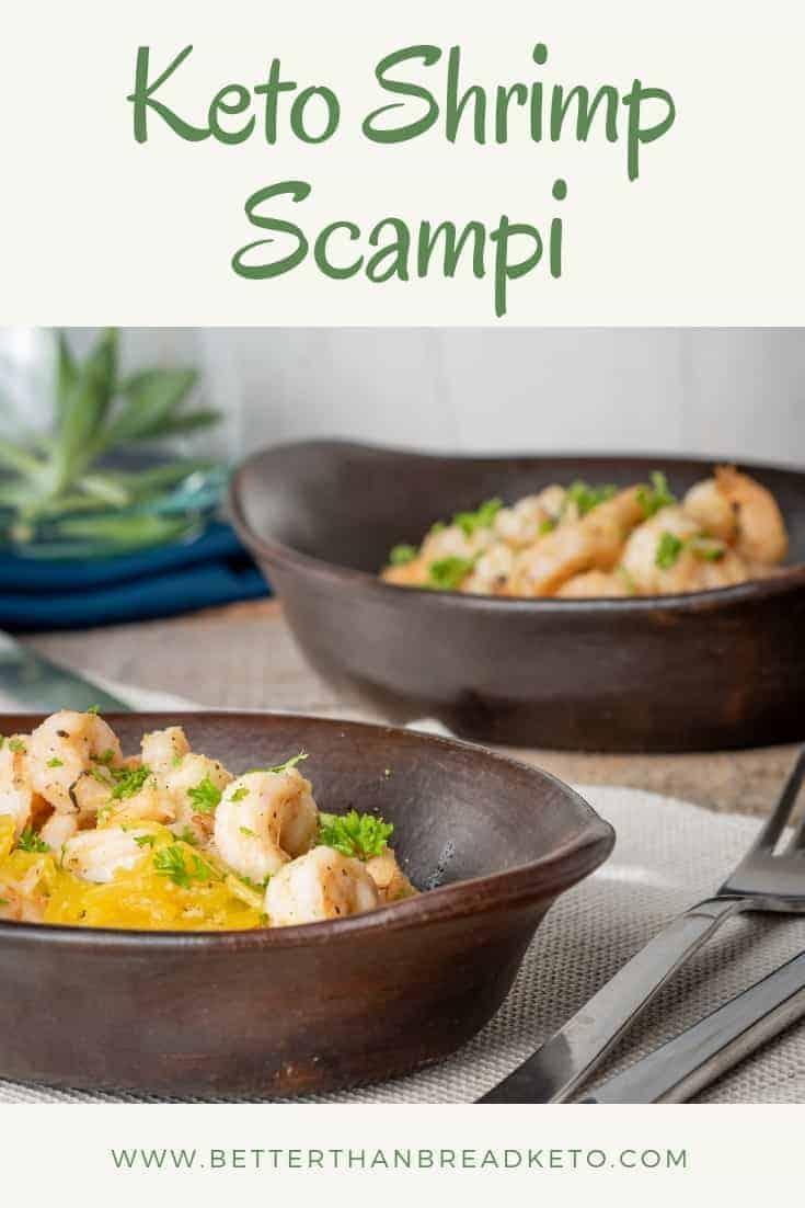 Buttery Keto Shrimp Scampi
