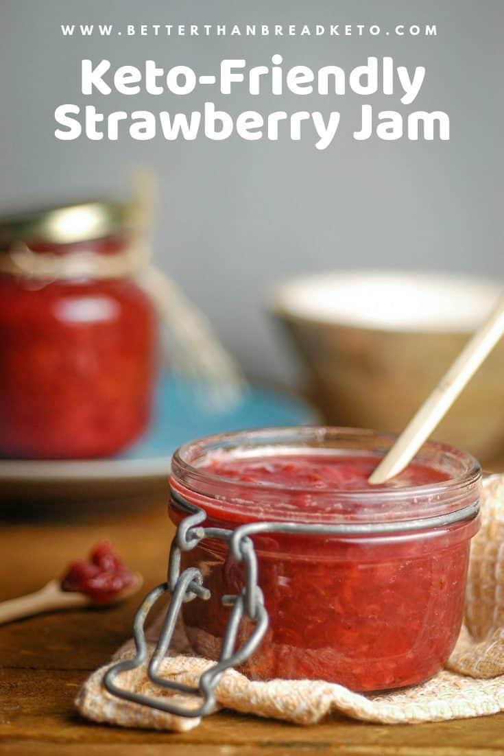Simple Keto-Friendly Strawberry Jam