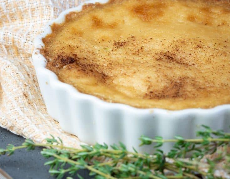 Keto Sugar Cream Pie
