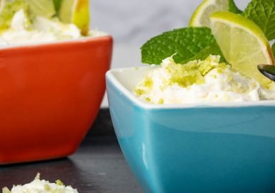 Keto Key Lime Pie Cheesecake Dip
