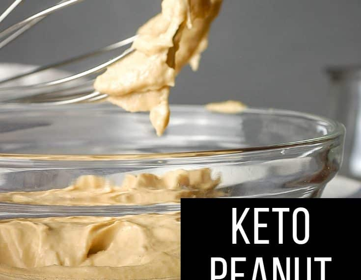 Keto Peanut Butter Icing