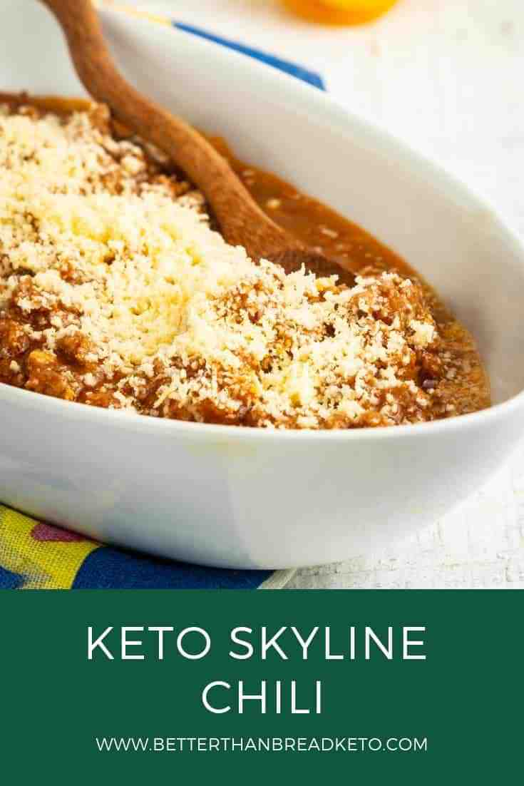 Keto Skyline Chili