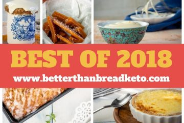Best Keto Recipes of 2018