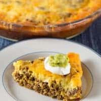 Keto/Low-Carb Taco Pie