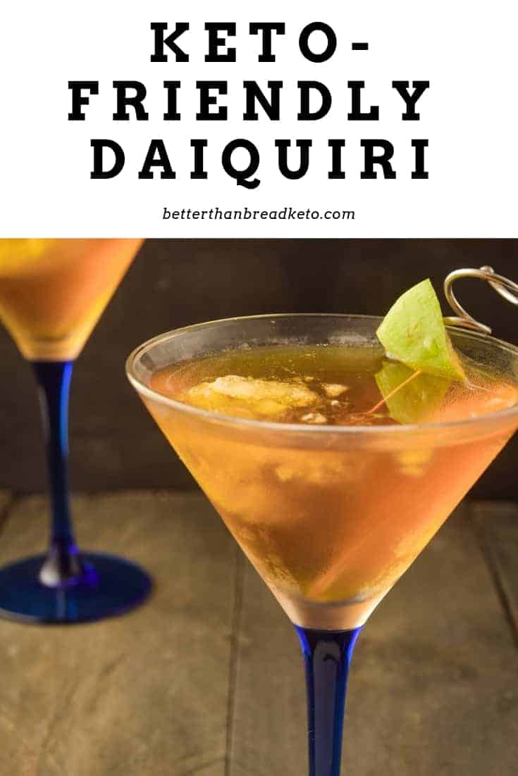 Keto-Friendly Daiquiri