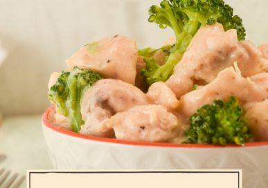 Keto Garlic Chicken and Broccoli