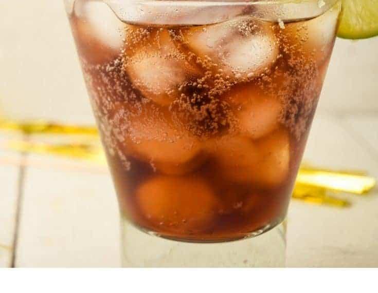 Keto-Friendly Rum and Coke