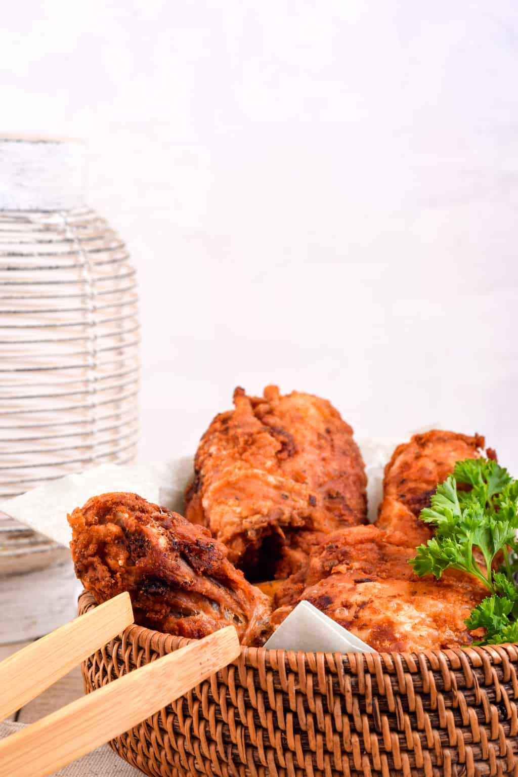 Keto Flourless Fried Chicken