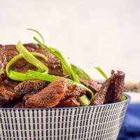 Keto Korean Beef Bulgogi