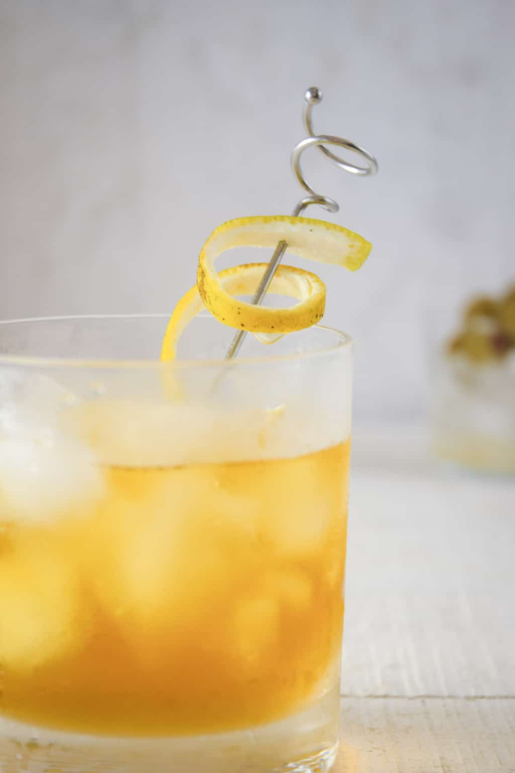 Keto-Friendly Bourbon Old Fashioned