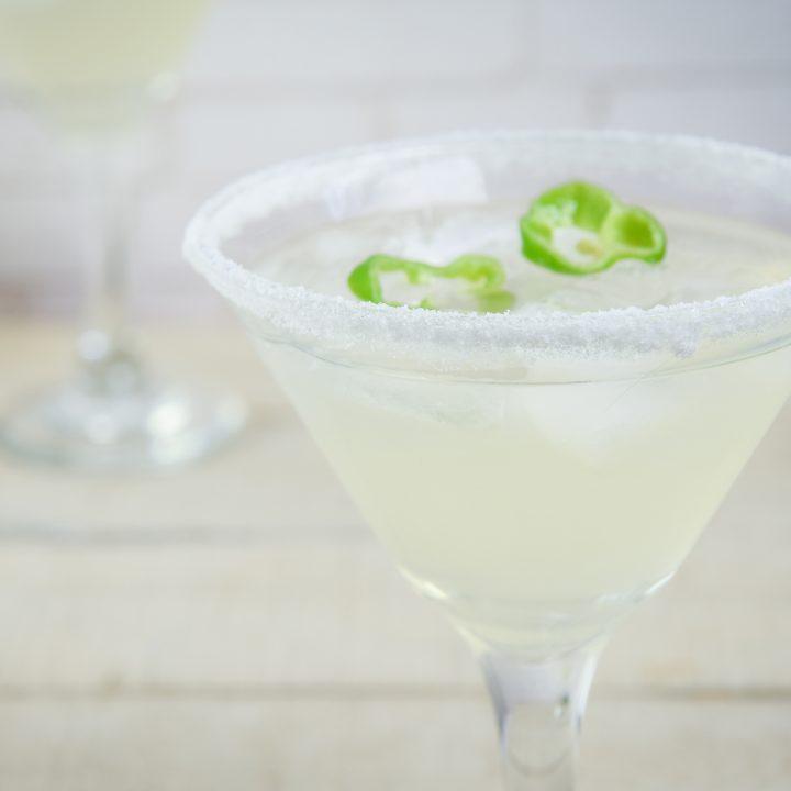 Keto-Friendly Jalapeno Margarita
