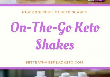 ZonePerfect Keto Shakes for On-the-Go