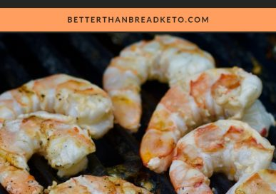 Low-Carb Coconut Grilled Shrimp
