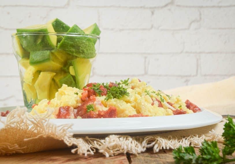 Keto Chorizo and Eggs