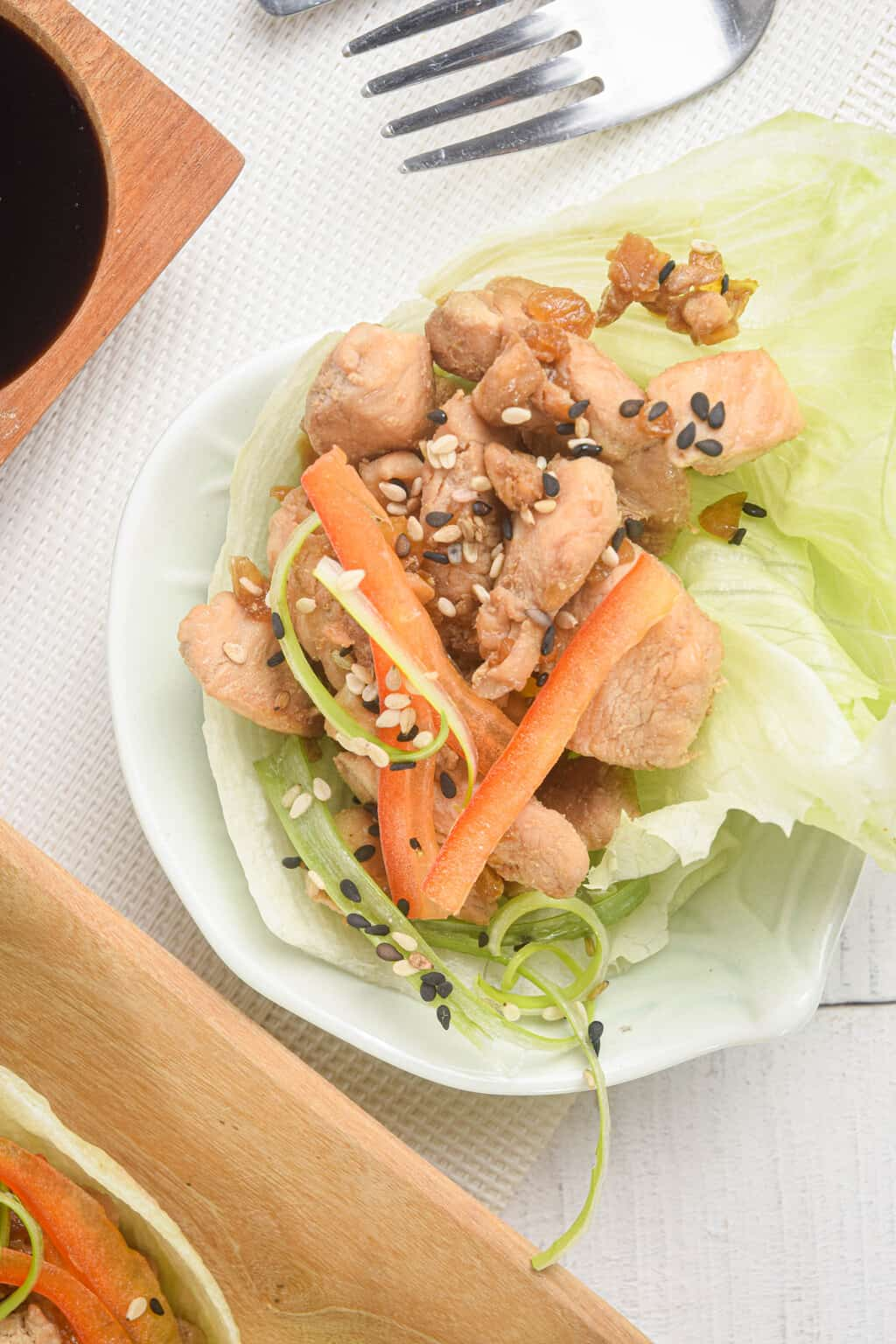 P.F. Chang's Copycat Keto Lettuce Wraps