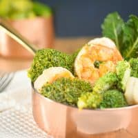 Keto Parmesan Shrimp and Broccoli