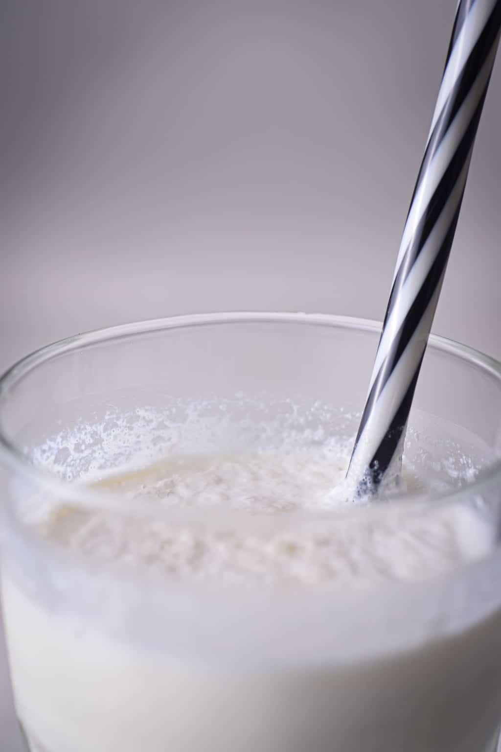 Keto Vanilla Milkshake
