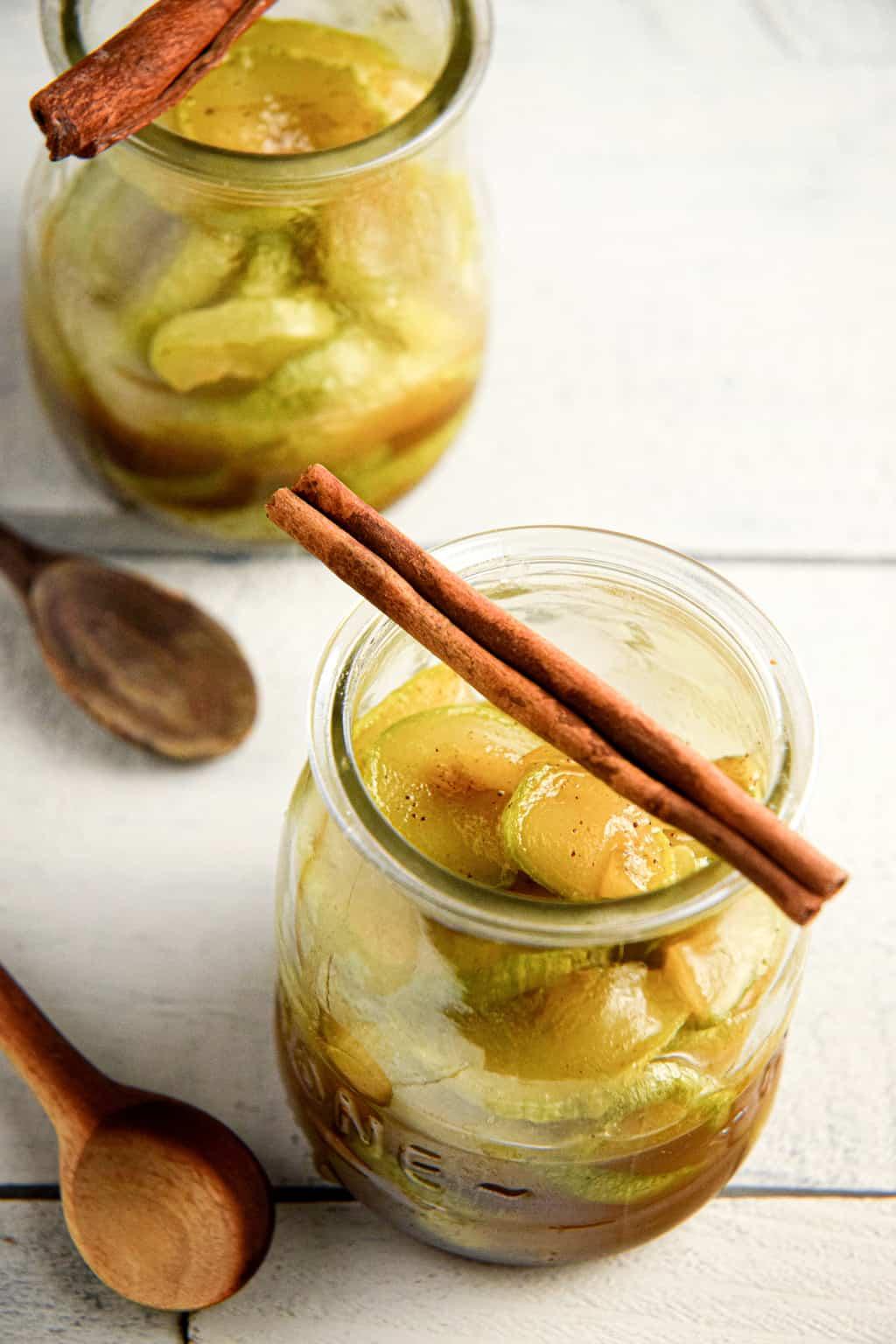 Keto Cinnamon Apples