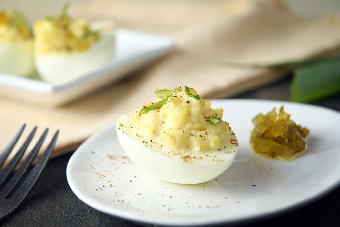 Keto Deviled Eggs