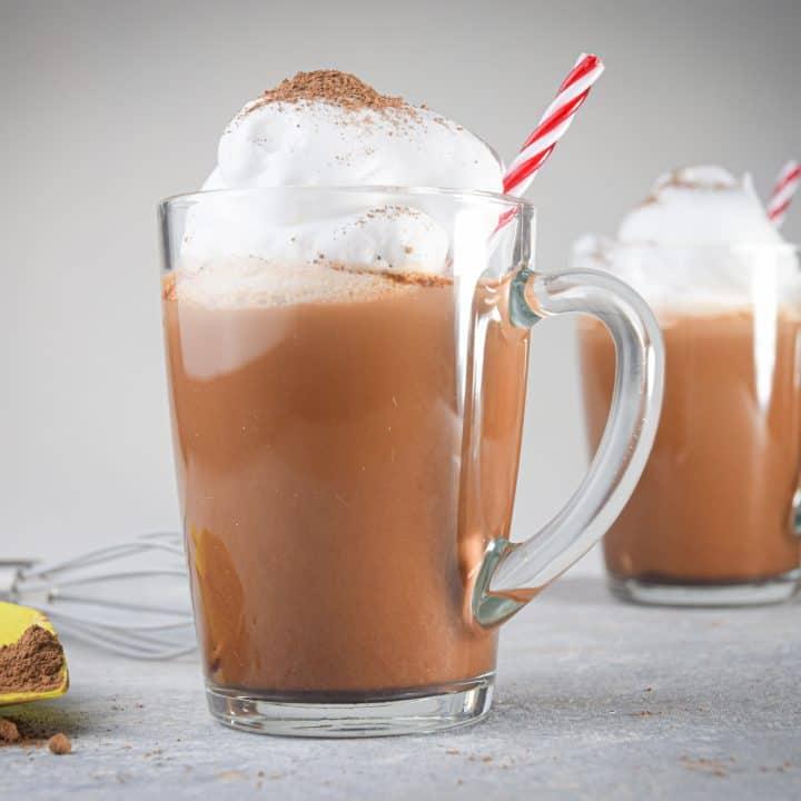Keto Peppermint Hot Chocolate