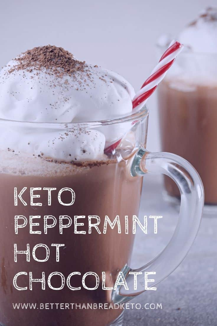 Keto Peppermint Hot Chocolate
